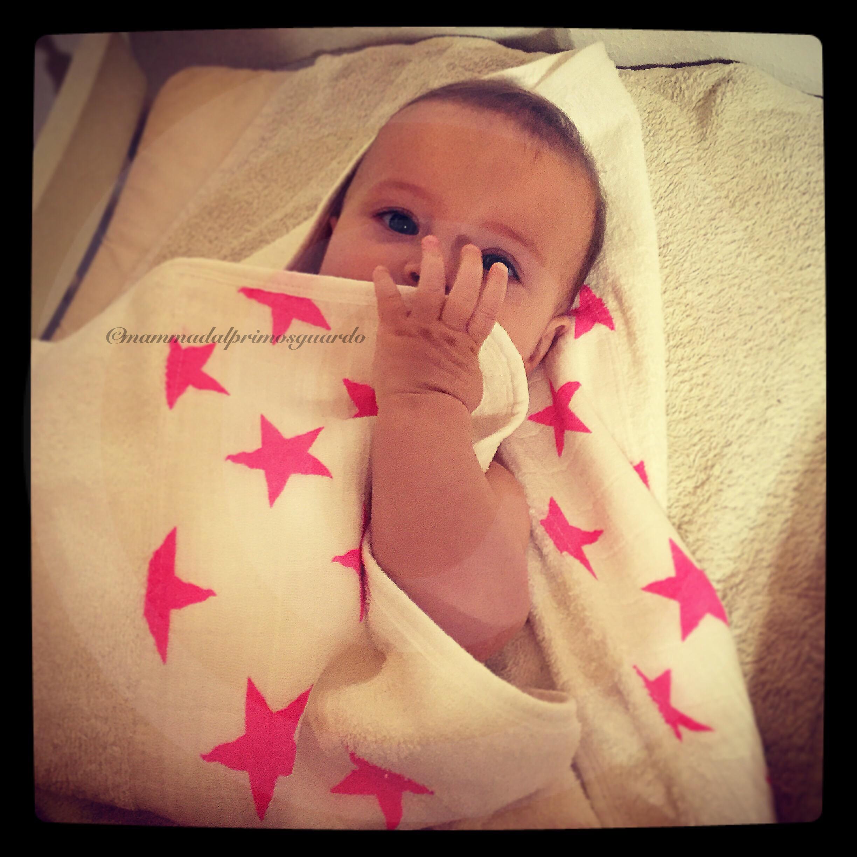 asciugamano aden+anais accappatoio