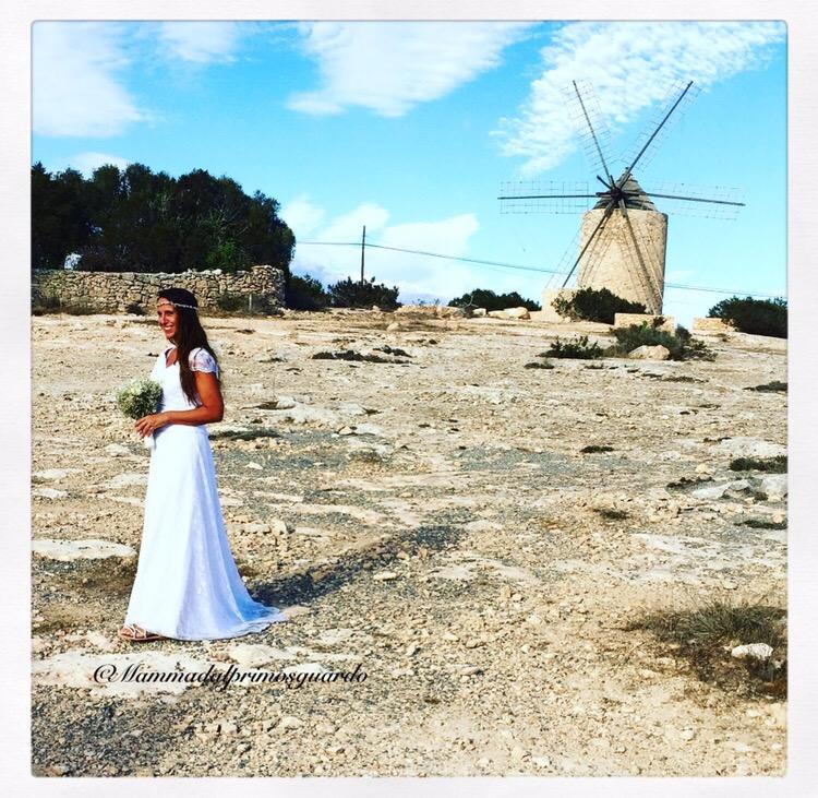 sposarsi a formentera abito spiaggia