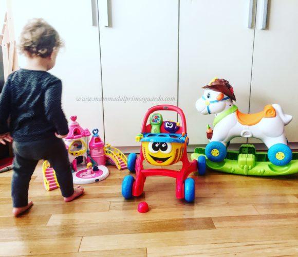 lello il carrello, baby rodeo e castello principesse chicco