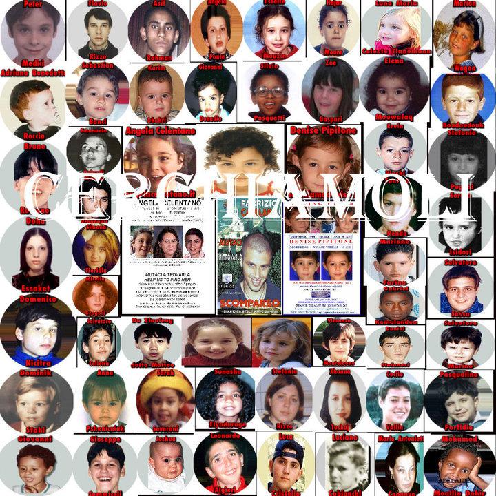 bambini scomparsi nel mondo