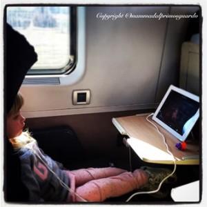 viaggiare in treno con bambini