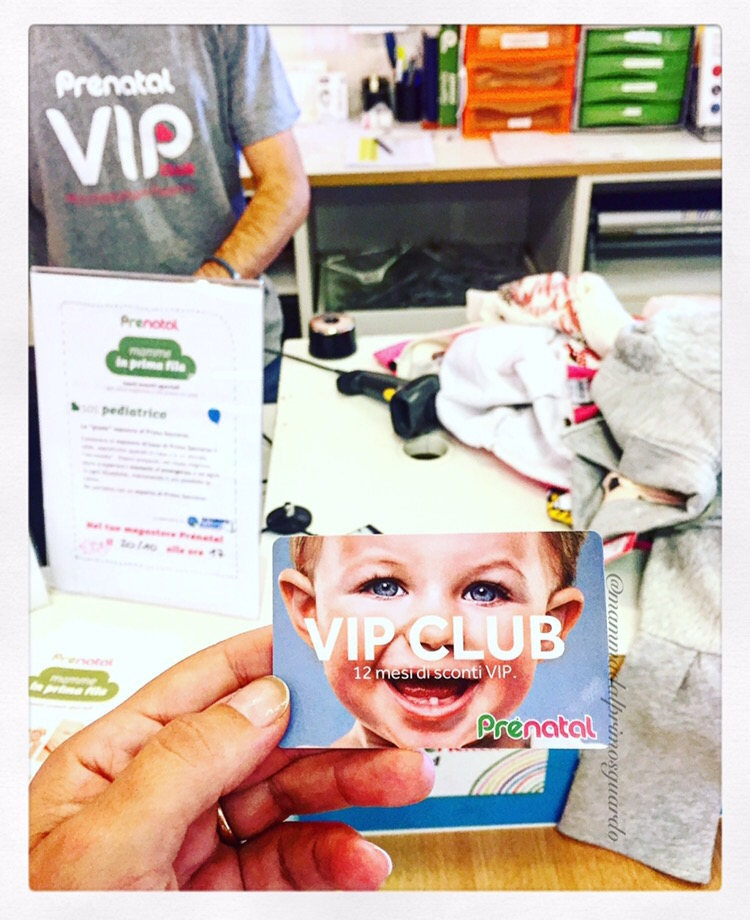 Prenatal vip card
