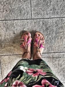 sandali conn pon pon