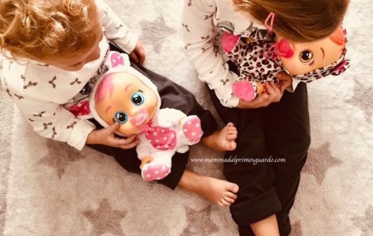 la bambole che piangono lacrime