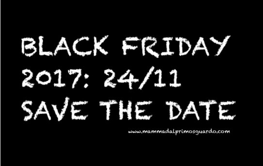 24 NOVEMBRE BLACK FRIDAY