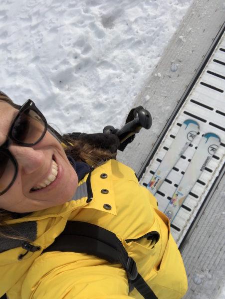 rimettere gli ski