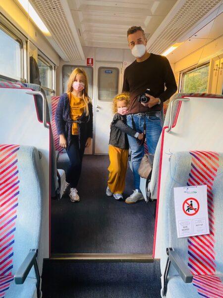 Foliage treno bambini